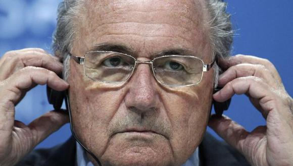 Blatter, ex presidente de la FIFA. (Foto: AP)