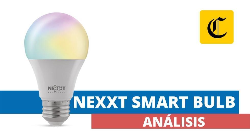 Los focos LED inteligentes de Nexxt Solutions ofrecen una buen alternativa para automatizar habitaciones o personalizar la decoración desde el punto de vista de la iluminación. (El Comercio)