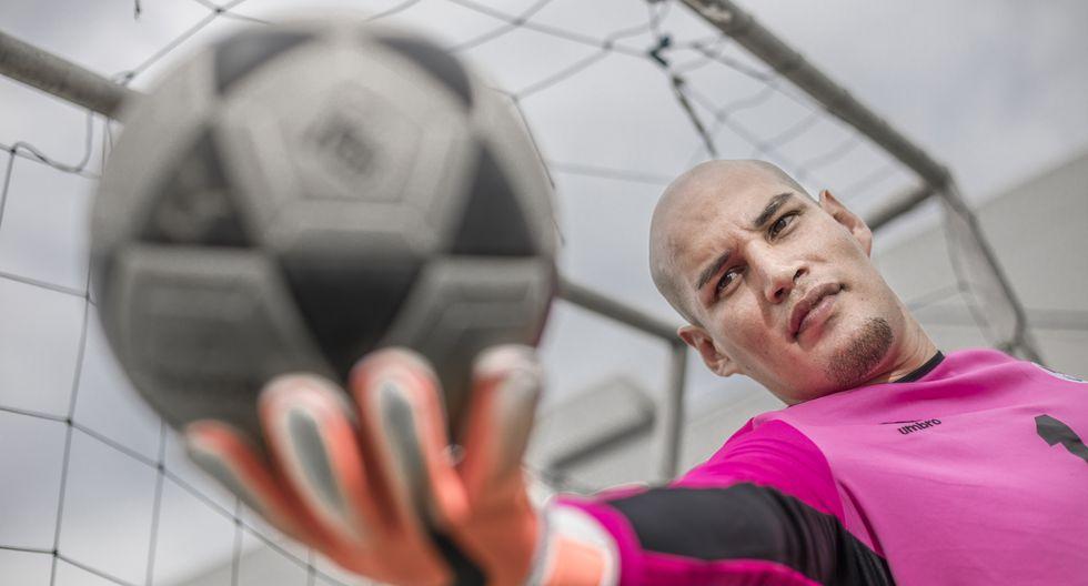 Jaime Regalado, arquero peruano de la selección paralímpica de fútbol que emigra al fútbol español. FOTO: Fidel Carrillo.