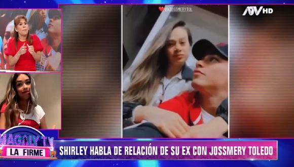 ¿Jossmery Toledo se interpuso en la relación de Shirley Arica y Jean Deza? (Foto: Captura ATV)