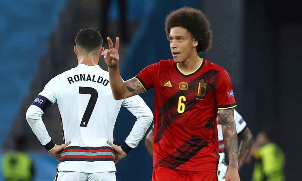 Portugal y Bélgica se enfrentaron en octavos de final de la Eurocopa | Foto: REUTERS
