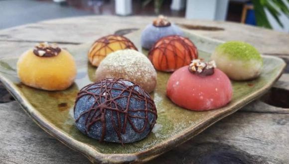 ¿Antojos de mochi? Kuni Mochi es una de las opciones de postres japoneses en Lima. (Foto: Instagram)