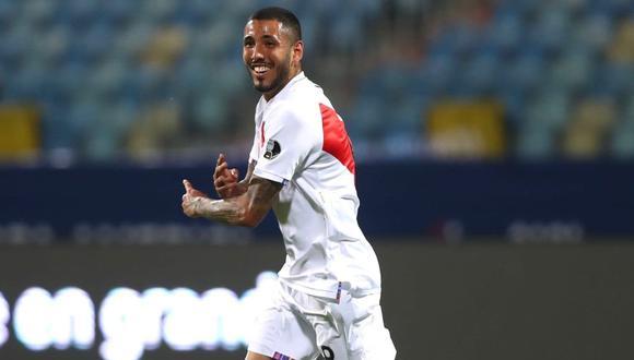 Sergio Peña logró ser titular en la Selección Peruana durante la Copa América 2021. (Foto: FPF)