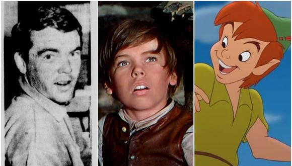 Bobby Driscoll, la primera estrella de Disney en caer en desgracia. (Fuentes: bobbydriscoll.net/Disney)