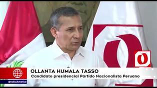 Humala está a favor de cambiar la Constitución de 1993