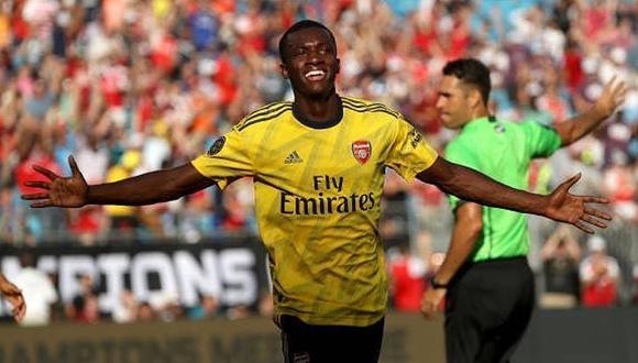 Arsenal se impuso por 3-0 a la Fiorentina en el marco de la segunda jornada de la International Champions Cup, en el Bank of America Stadium de Charlotte (Foto: Arsenal)