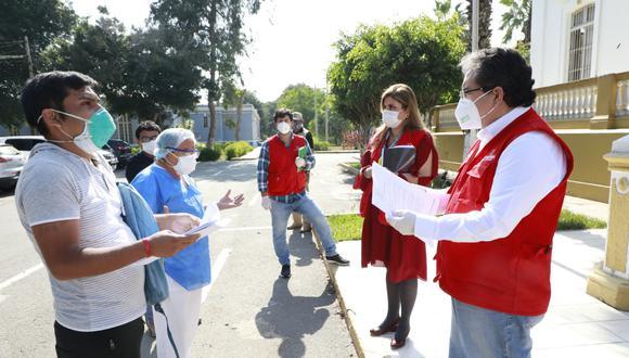 Nelson Shack supervisó el Hospital Larco Herrera e informó que se darán a conocer los resultados de la investigación en las próximas semanas. (Foto: Contraloría)