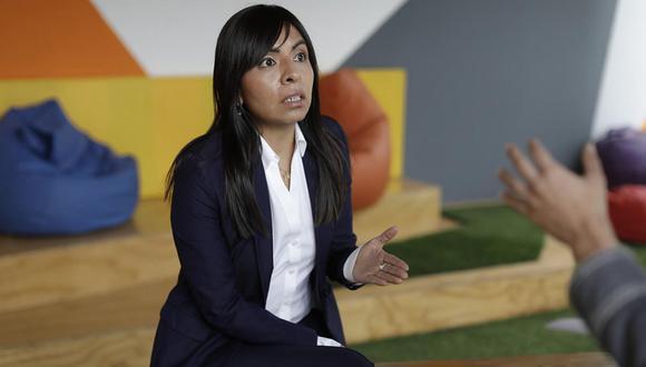 La abogada Giulliana Loza indicó que Keiko Fujimori recibió la noticia con tranquilidad. (Anthony Niño de Guzmán / GEC)