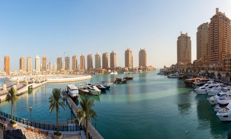 En la capital, Doha, está la isla de La Perla. Solo allí pueden residir los extranjeros.    Foto: Shutterstock