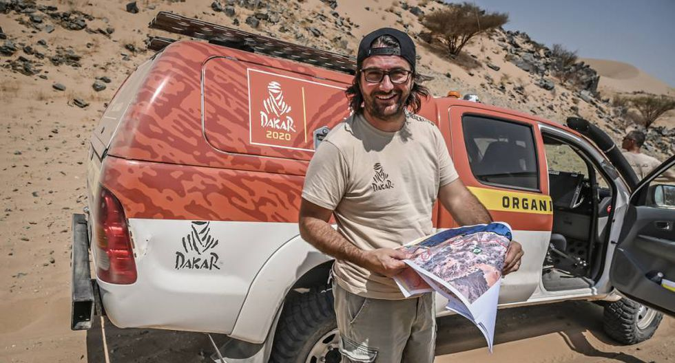 David Castera, el director del Dakar 2020. (Foto: Dakar.com)