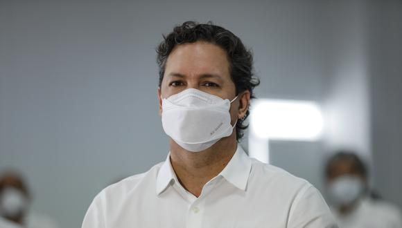 Daniel Salaverry, candidato presidencial por Somos Perú, señaló que se debería evaluar la evolución de la pandemia. (Foto: GEC)