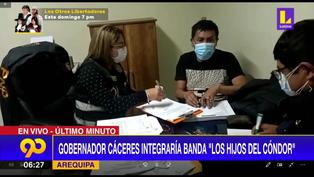 Detienen a gobernador de Arequipa por integrar presunta organización criminal