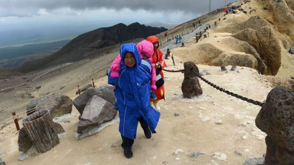 Hasta 1992, cuando se formalizaron las relaciones diplomáticas de su país con China, los surcoreanos no podían visitar el monte Paektu.