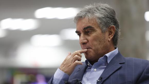 """Juan Carlos Oblitas: """"No estamos de acuerdo con el planteo de Gareca ante Brasil"""". (Foto: El Comercio)"""