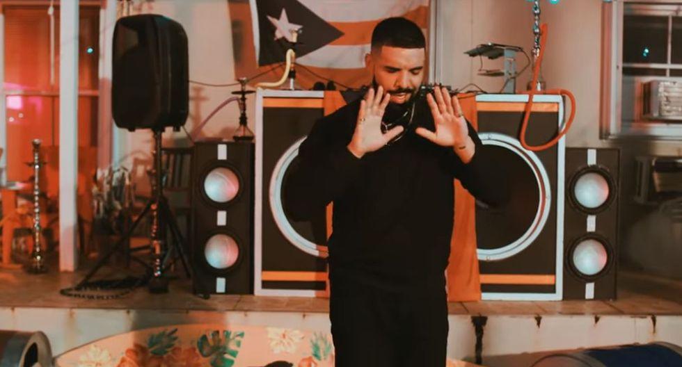 """Bad Bunny lanzó la canción """"Mía"""", junto al rapero Drake. (Foto: Captura de YouTube)"""