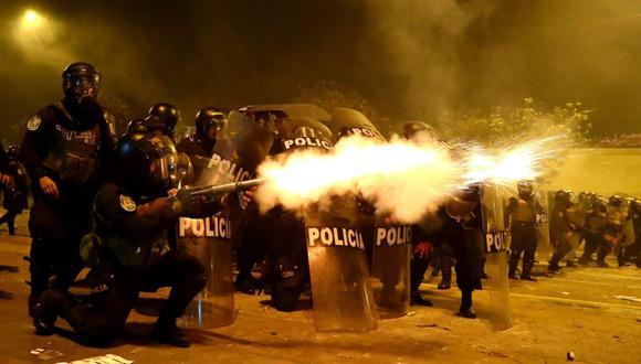 El Ministerio Público investiga la actuación de la policía durante las protestas contra Manuel Merino, que dejaron dos muertos (GEC)