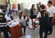 Incautan documentación de oficina de Transportes de Municipalidad de Piura