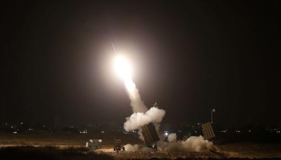 Cohetes disparados por Hamas impactan en Jerusalén
