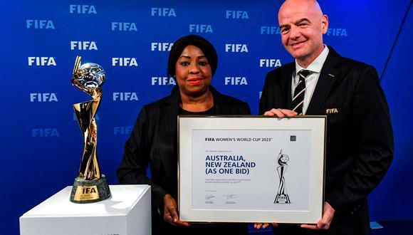 Australia y Nueva Zelanda derrotan a Colombia para sede de Mundial femenino 2023 | Foto: AFP