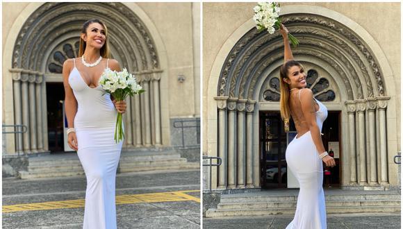 """Modelo se casó con ella misma para celebrar el """"amor propio"""". (Foto: @cristianegaleraoficial / Instagram)"""