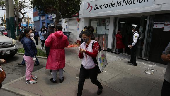 Unas  670.000 familias cobrarán el Segundo Bono Familiar Universal a través de la Cuenta DNI. (Foto: Fernando Sangama / GEC)