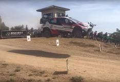 YouTube: No te pierdas este choque entre un dron y un auto de rally