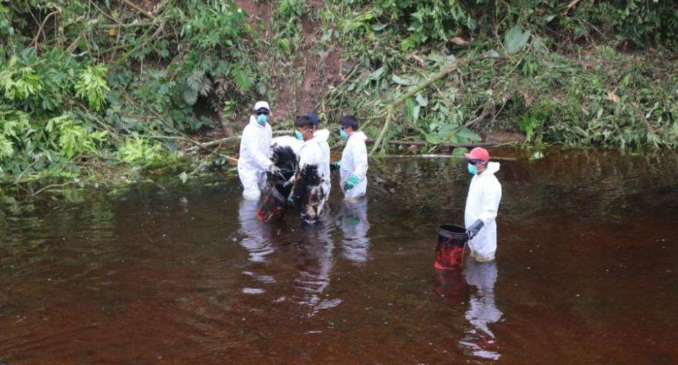 Amazonas: primeras fotos de nuevo derrame de crudo de PetroPerú - 1