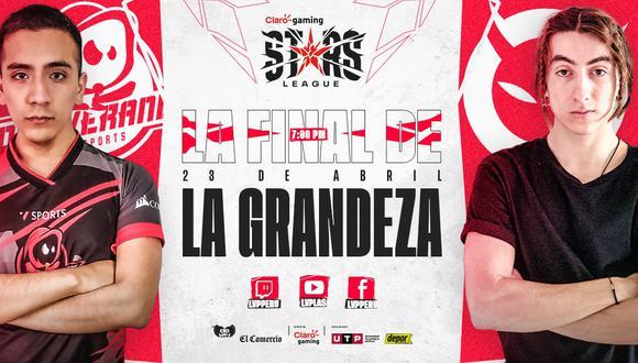 La final de la Claro Gaming Stars League se llevará a cabo el próximo 23 de abril. (Imagen: LVP)