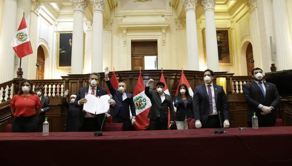 Congreso promulgó la ley que permite el retiro del 25% de fondos de las AFP, tras vencer el plazo para que el presidente Martín Vizcarra la respalde o la observe (Foto: Antonhy Niño de Guzmán)