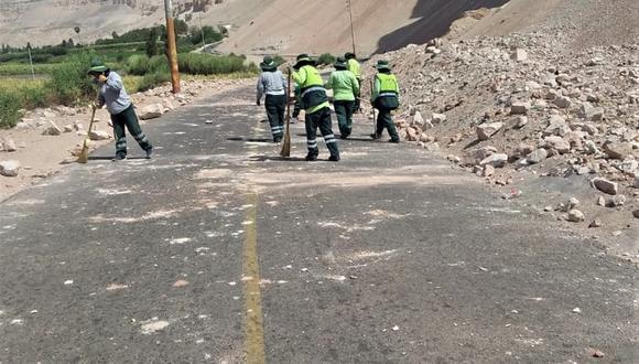 Arequipa: COEN reporta cuatro inmuebles y una carretera afectadas por el sismo (Foto difusión)
