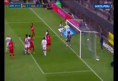 Alianza Lima vs. Sport Huancayo: autogol de Antonhy Fuentes le dio el 2-1 a los victorianos | VIDEO