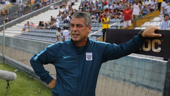 En Alianza Lima confían en retener a Pablo Bengoechea para el próximo año. (Foto: El Comercio)