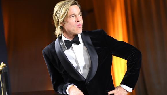 """Brad Pitt se convirtió en """"el chico del clima"""" para programa de  YouTube. (Foto: AFP)"""