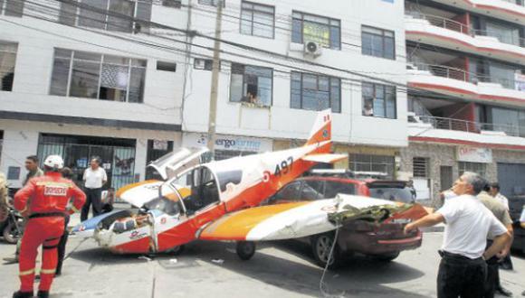 Investigan accidente de aeronave de instrucción ensamblada en el Perú