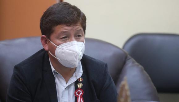 Guido Bellido dijo que no realizará ninguna visita al proyecto minero Tía María. (Foto: Twitter PCM)