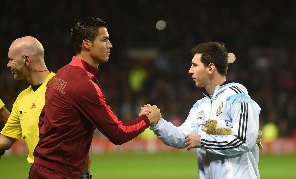 """En una entrevista a la revista """"France Football"""", Cristiano Ronaldo habló acerca de su nivel futbolístico, destacándose entre los mejores, al igual que Lionel Messi. (Foto: AFP)"""
