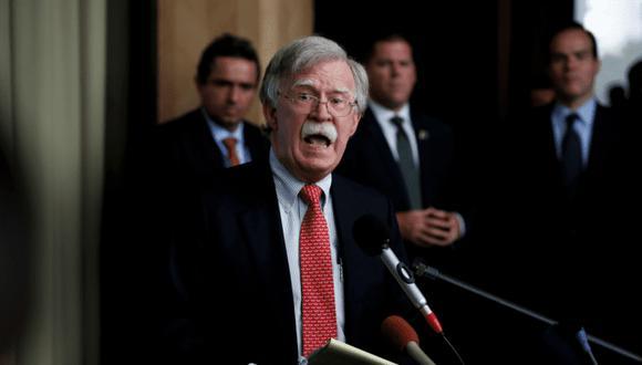 John Bolton, asesor de Seguridad Nacional de la Casa Blanca | Foto: EFE