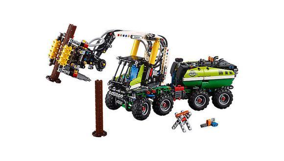 Además, el set de 1.003 piezas puede transformarse en un camión transportador para los pequeños troncos de plástico. (Foto: Difusión)