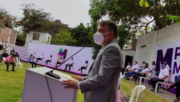 Un militante del Partido Morado aparece en la lista de vacunados irregularmente entregada por la PCM. (Foto: Andina)