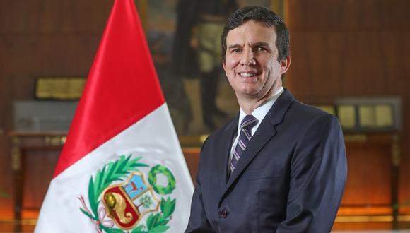 Ministro Luis Miguel Incháustegui (Foto: Minem)
