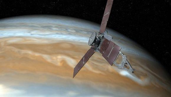 Sonda de la NASA que orbita Júpiter entró en modo de seguridad