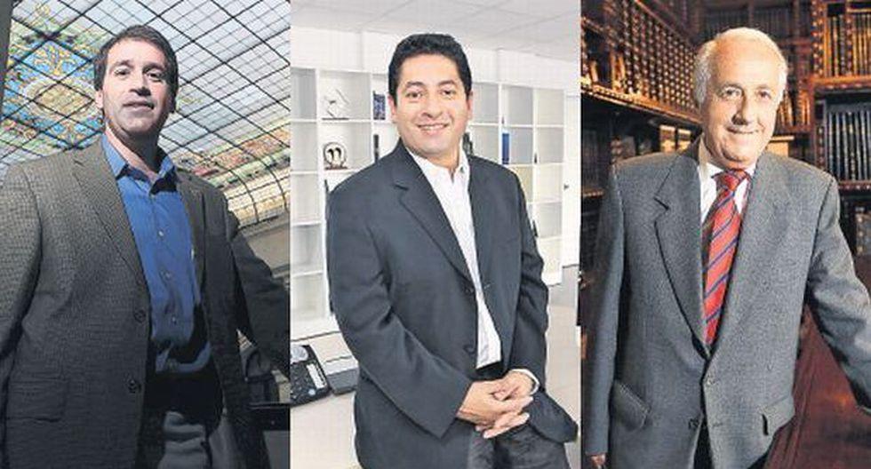 Alcaldes de tres distritos van por el sillón limeño