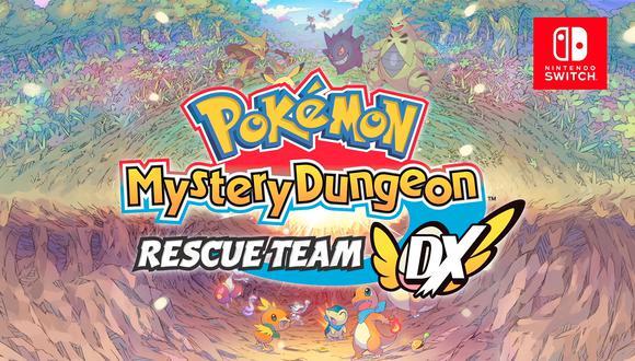 Pokémon Mystery Dungeon: Rescue Team.(Difusión)