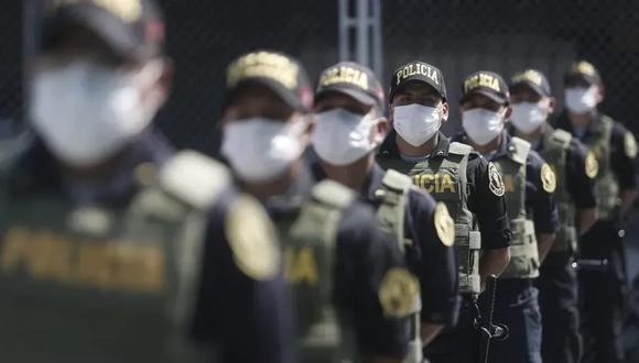 En su primer mensaje a la Nación, el presiente Francisco Sagasti anunció la modernización de la Policía Nacional del Perú. (Foto: César Campos/GEC)