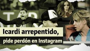 Icardi eliminó de Instagram a todos sus amigos tras reconciliarse con su esposa