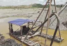 Madre de Dios: FF.AA. y PNP destruyeron campamento y maquinaria usada por la minería ilegal   VIDEO