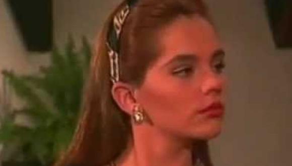 La actriz Amairani interpretó a la malvada Natalia Montenegro, una joven adinerada y engreída (Foto: Televisa)