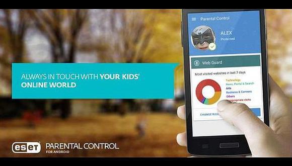 Esta app permite controlar lo que hacen los niños en el celular