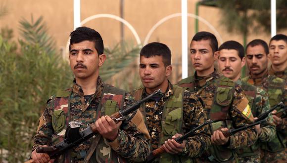 Kurdos en Siria piden a Occidente una fuerza internacional frente a Turquía | Deir Ezzor | Baghuz. Foto: AFP