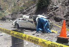 Accidente en Huarochirí: vehículo que trasladaba alumnos registró 9 multas en este año